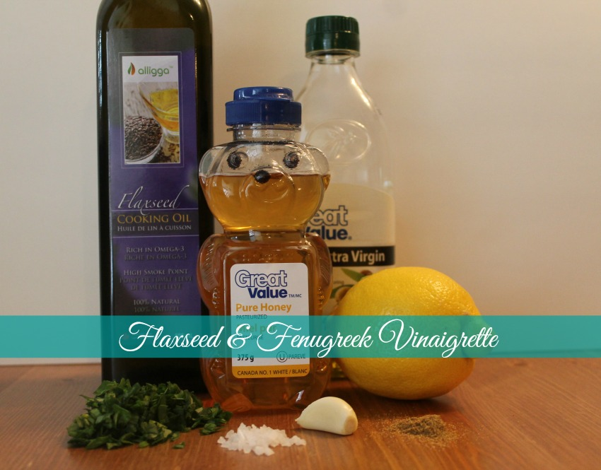 Flax Seed and Fenugreek Vinaigrette