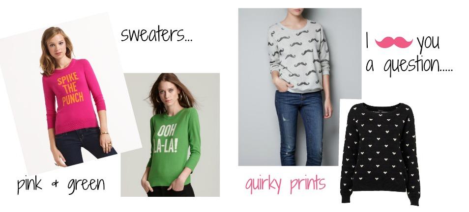Fall 2013: Wardrobe Inspiration