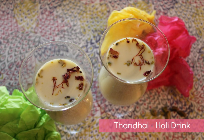 thandhai holi drink
