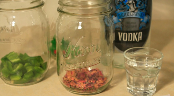 From the Bar: Infused Vodka