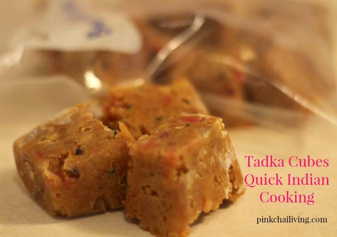 quick indian cooking tadka cubes