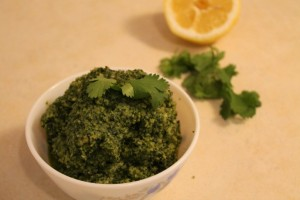 cilantro pesto how to make