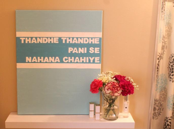 Bollywood Inspired Canvas Art