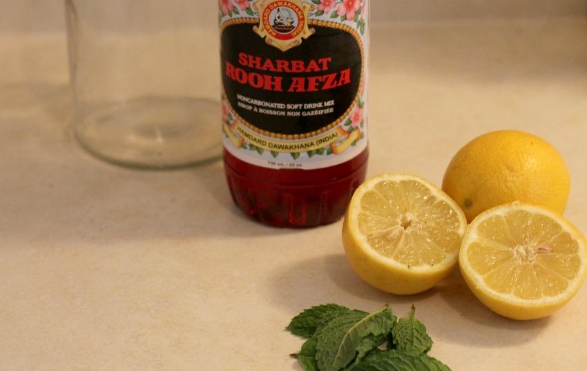 rooh afza lemonade ingredients