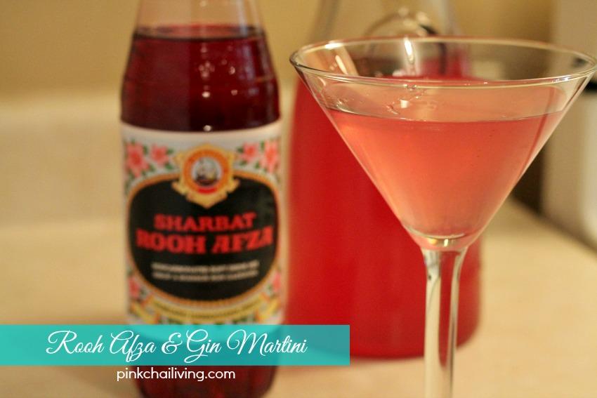 rooh afza martini