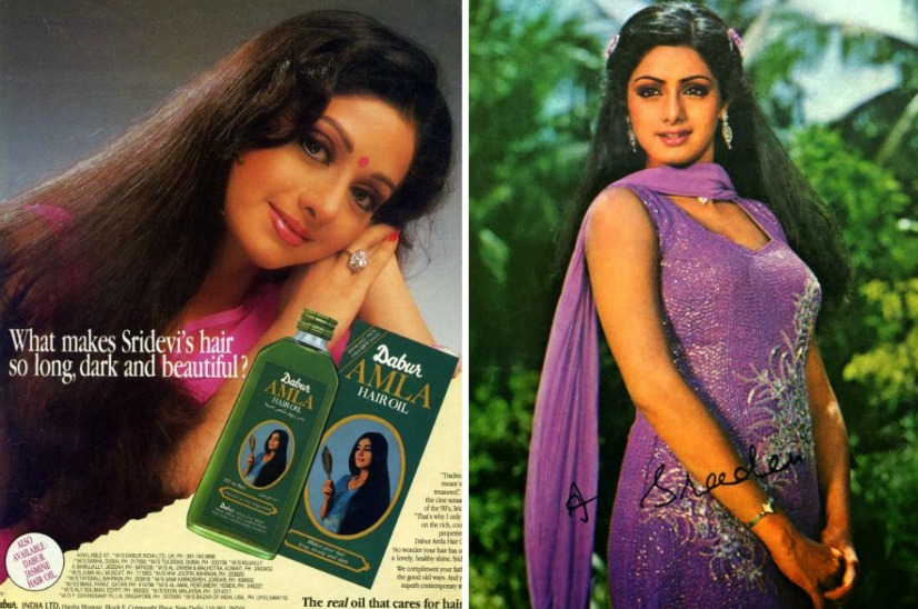 sridevi dabur amla hair oil