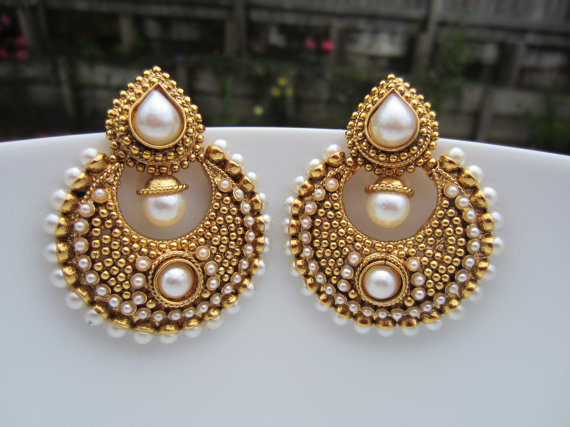 Chand bali earrings my current obsession pink chai living for How can i tell if my jewelry is real gold