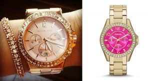 fossil-pink-face-watch