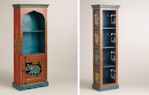 painted-elephant-bookcase-world-market