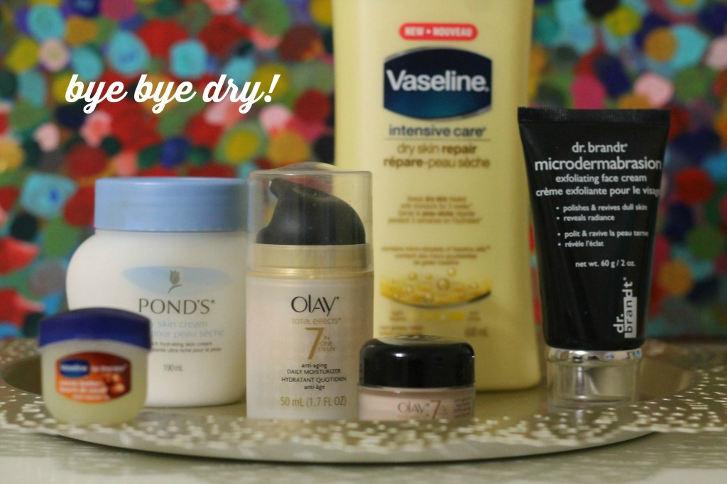 drug store finds for dry skin