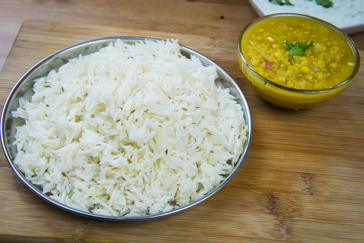 how to make jeera rice