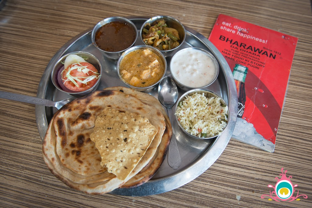 bharawan da dhaba amritsar, where to eat in amritsar
