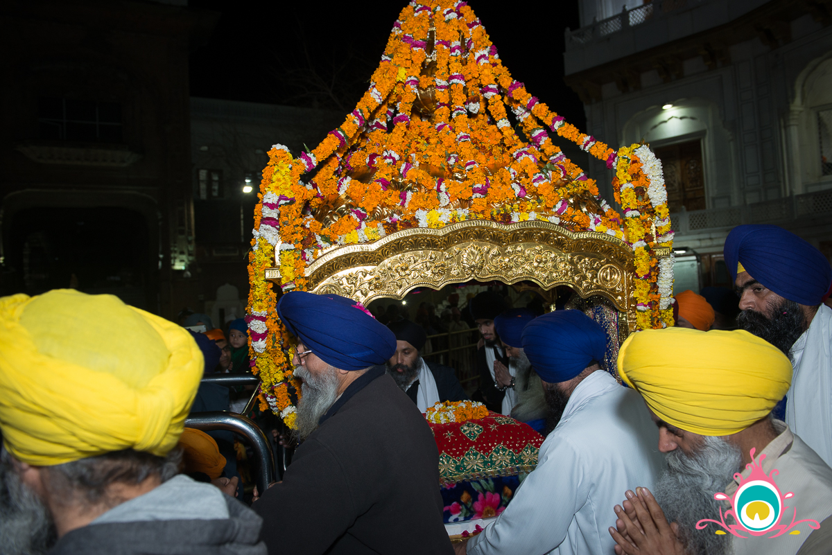 palki ceremony golden temple, amritsar travel guide