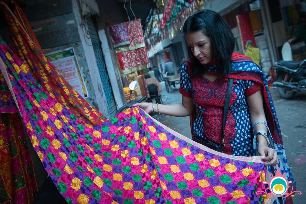 phulkari shopping amritsar, pink chai living