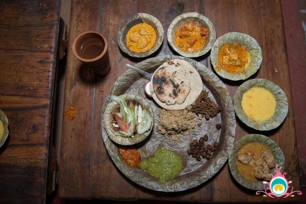 rajasthanhi thali, chockhi dani jaipur