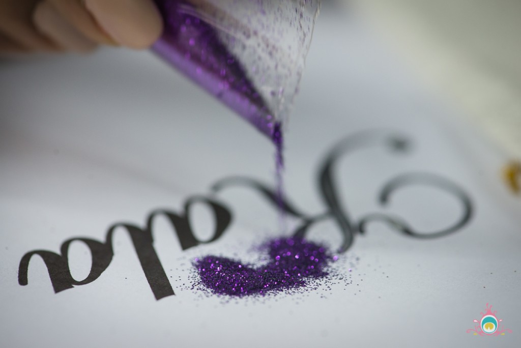 vaisakhi glitter art