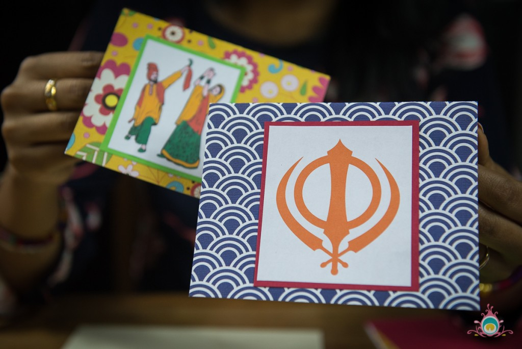 make vaisakhi cards