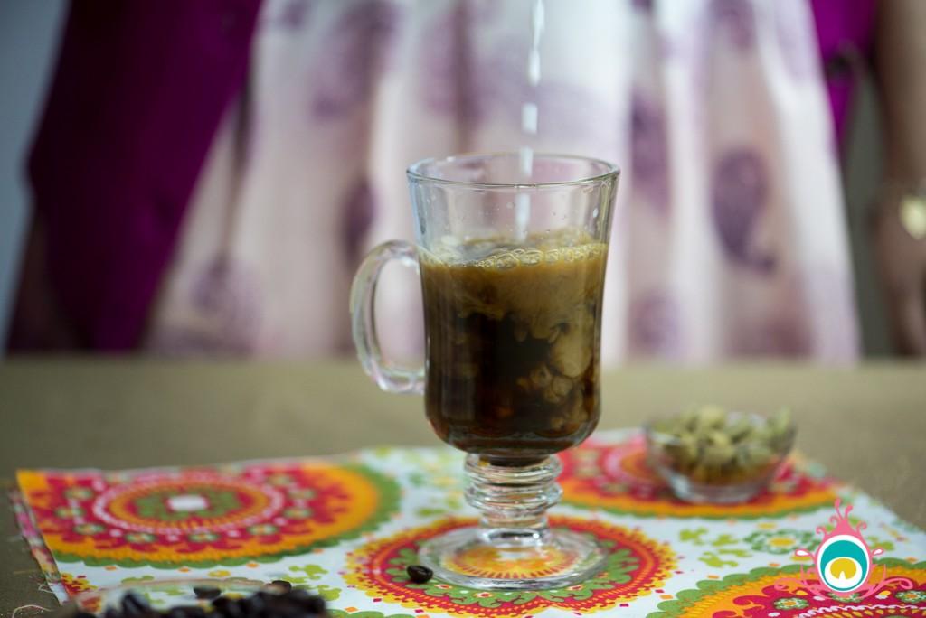 cardamom and rose coffee