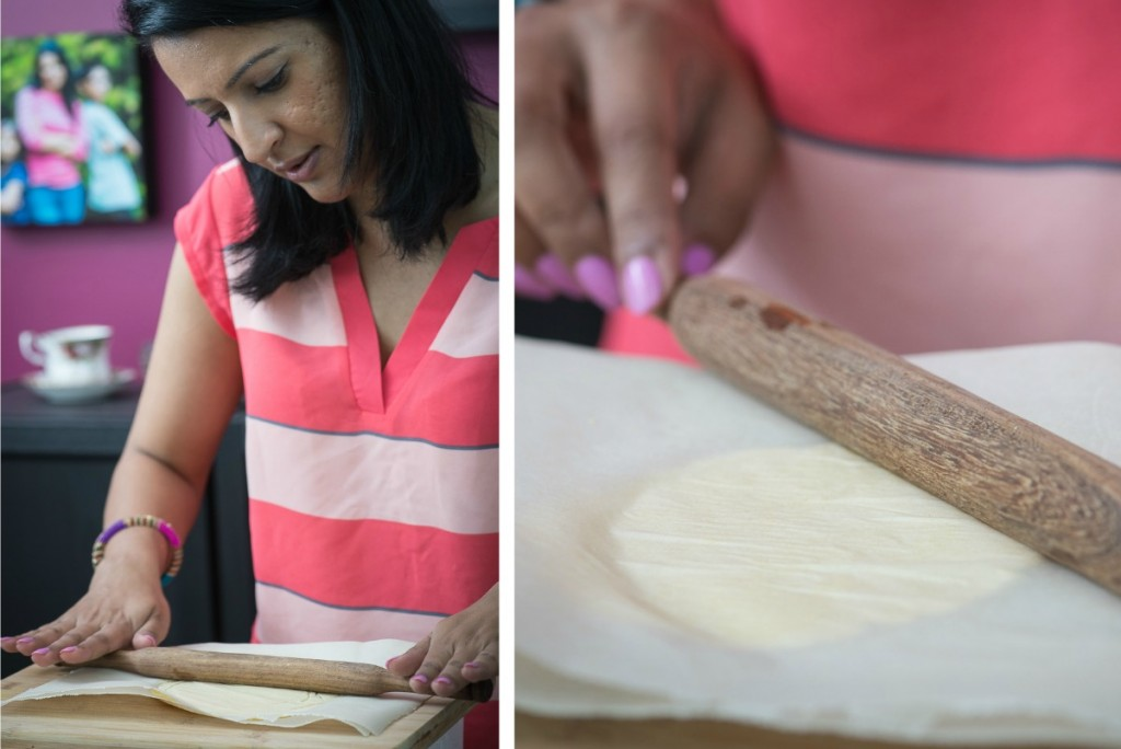 how to make makki di roti