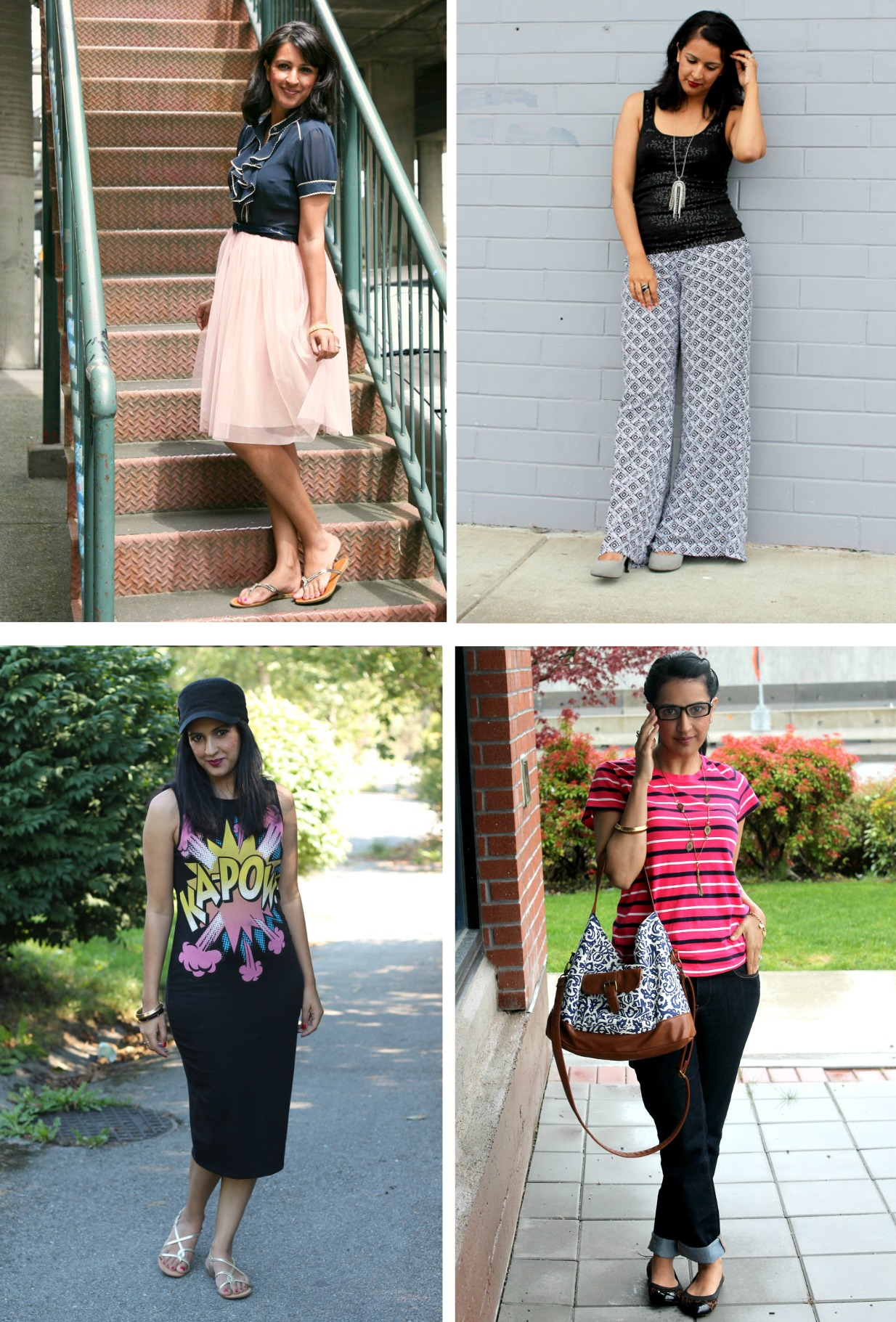 20 outfit ideas for spring and summer