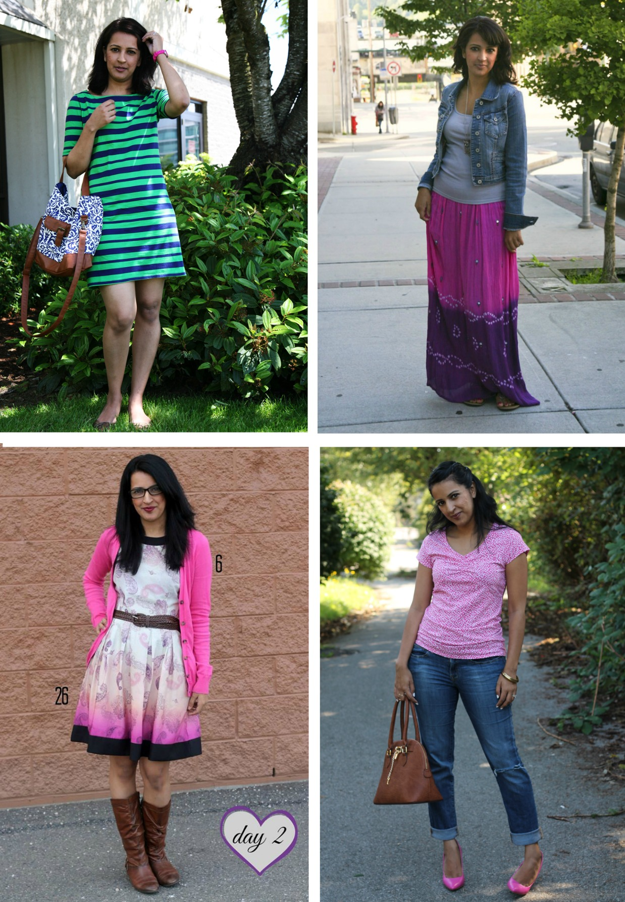 20 outfit ideas for spring summer, pink chai living