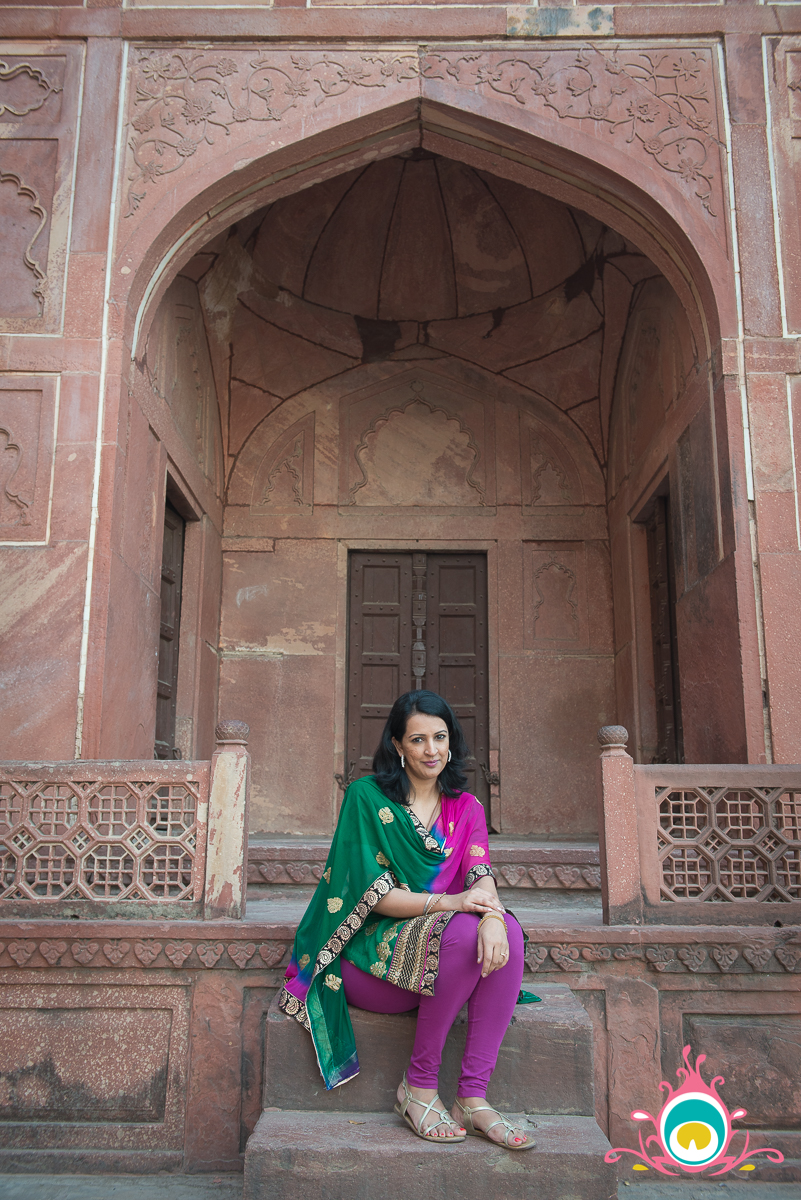 agra travel guide, taj mahal, pink chai living
