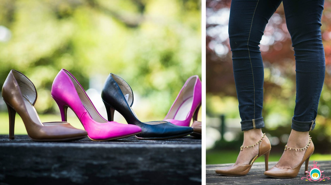 pumps with payal