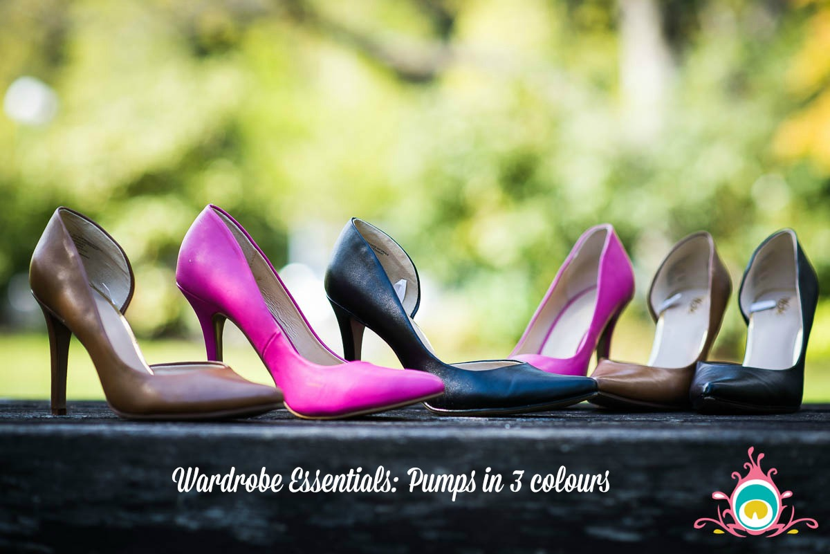 building a shoe wardrobe starting with 3 pairs of pumps