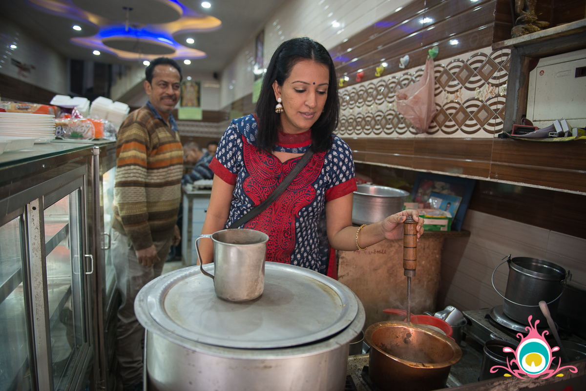 learning to make chai in india