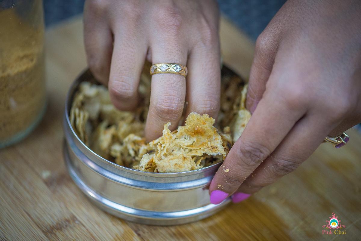how to make churi roti with shakkar