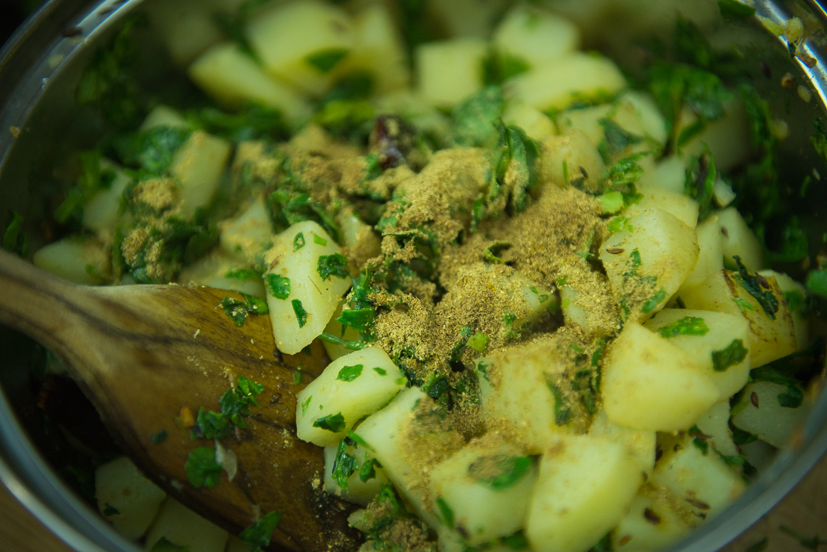 aloo methi sabzi recipe