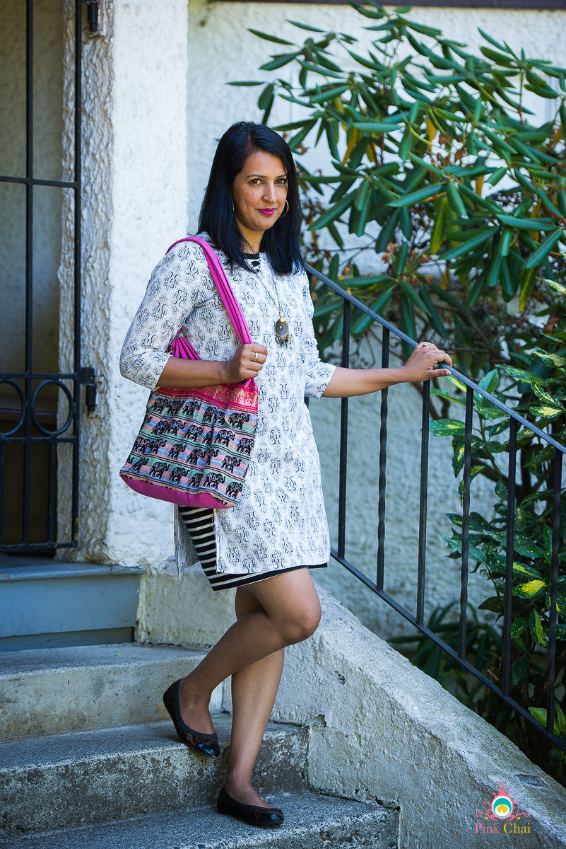 style a kurti as a dress