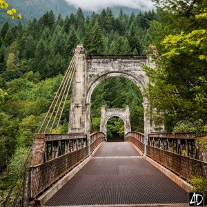 alexandria bridge, fraser canyon, BC