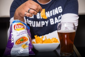 lays butter chicken chips