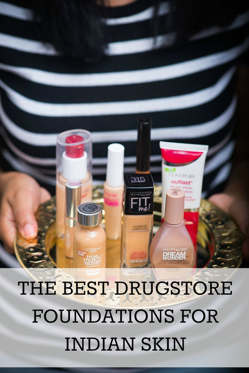 drugstore foundations for indian skin