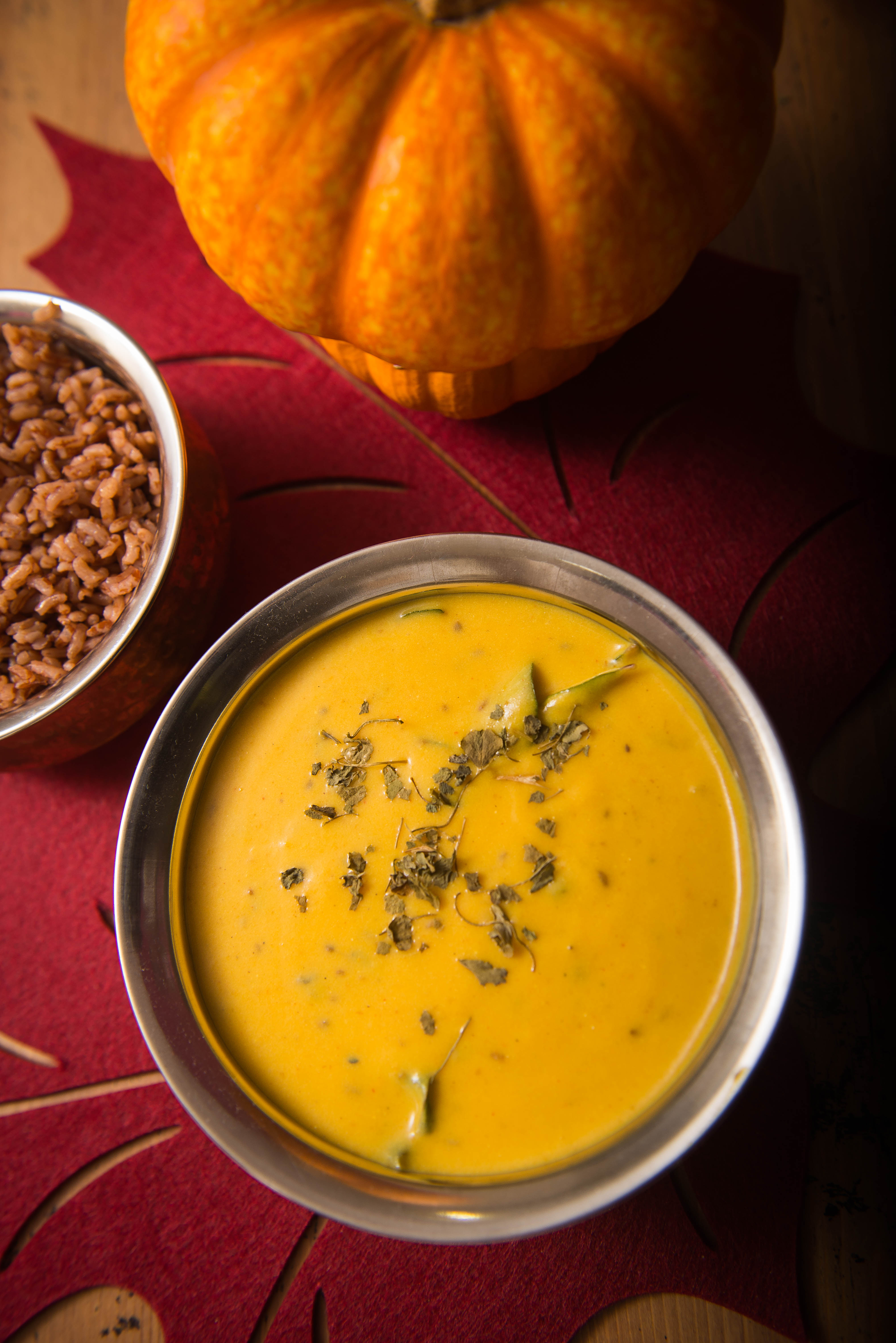 pumpkin kadhi