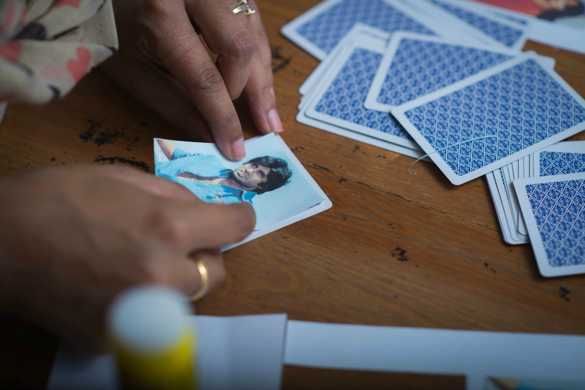 diy bollywood playing cards 5
