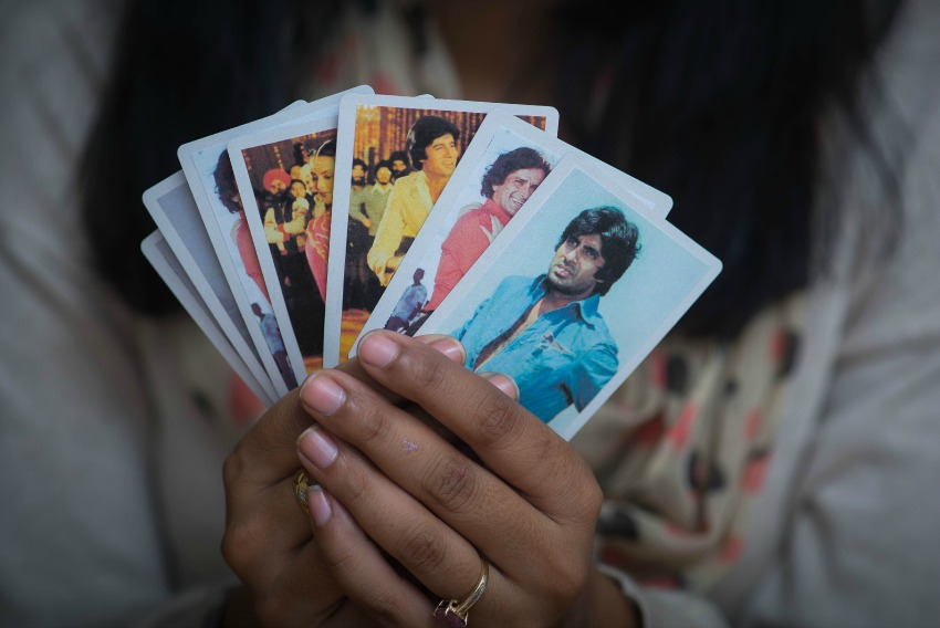 diy bollywood playing cards, pink chai, diwali