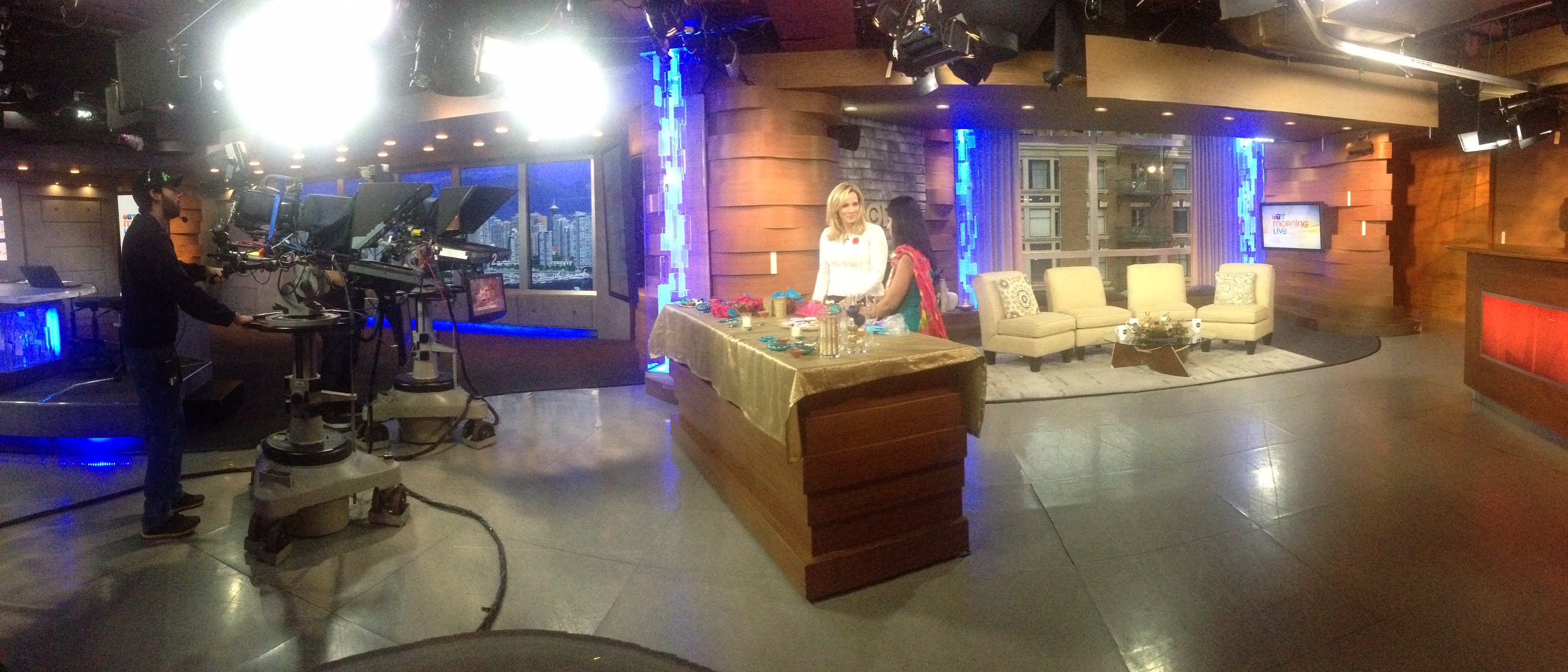 pink chai CTV Mornings