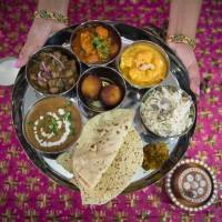 traditional punjabi thali