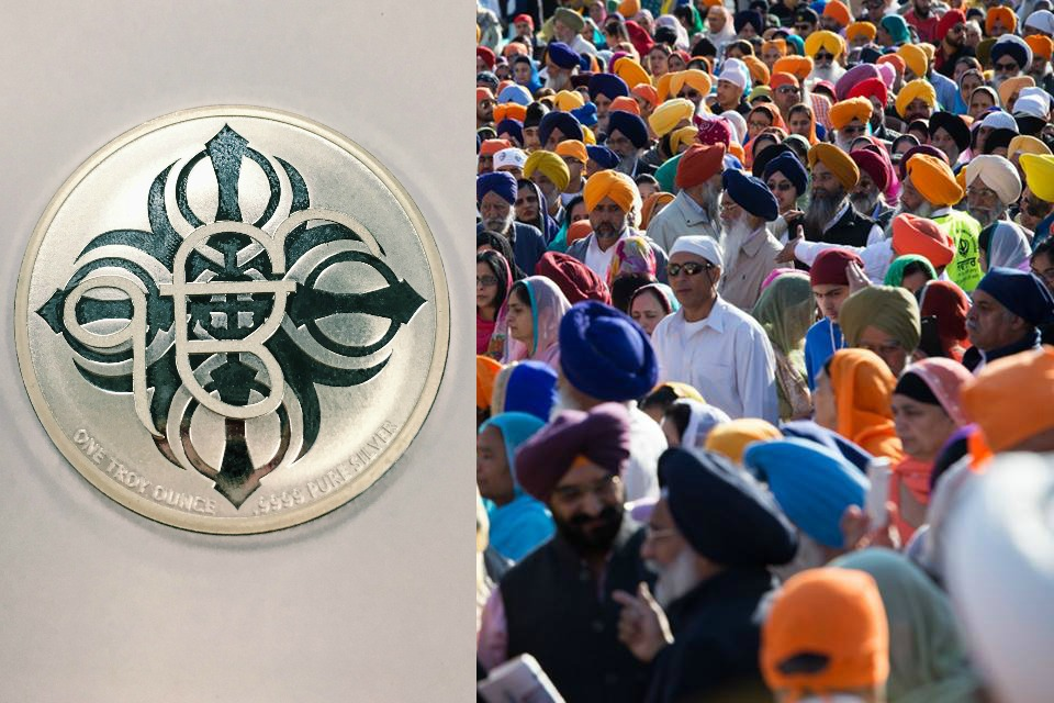 commemorative vaisakhi coin cibc 2016