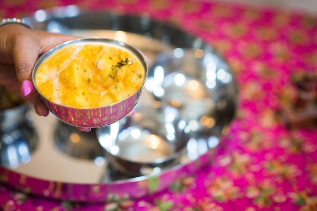 shahi paneer pink chai living
