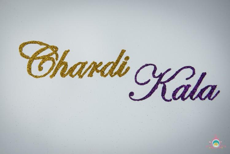 Vaisakhi Craft: Sikhi Inspired Glitter Art