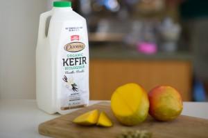 mango lassi with kefir