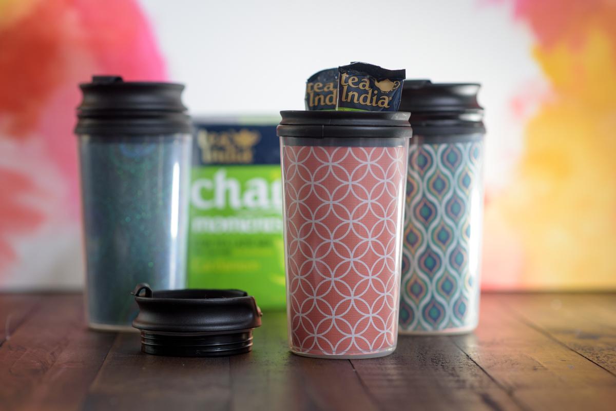 diy travel tumblers for chai