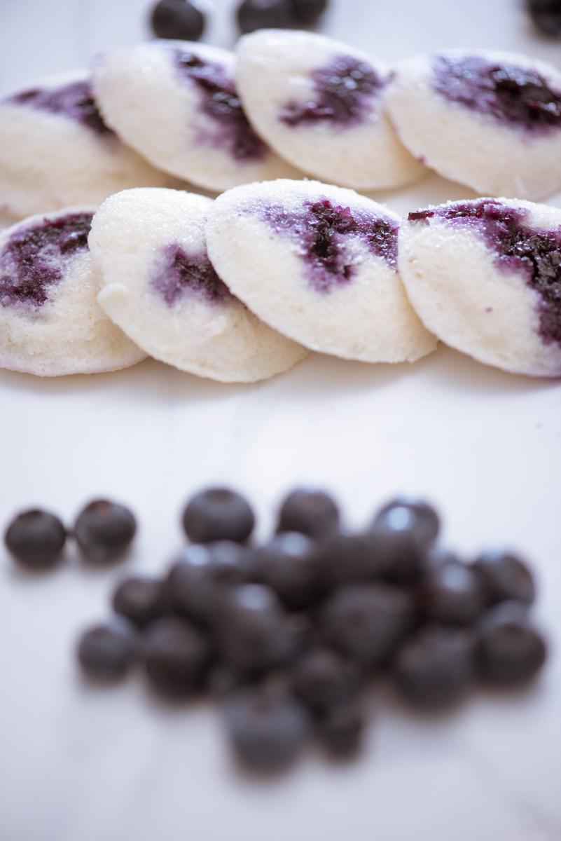 blueberry filled idli