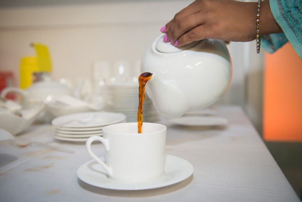 hosting a chai party
