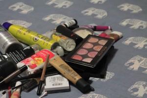 purging makeup