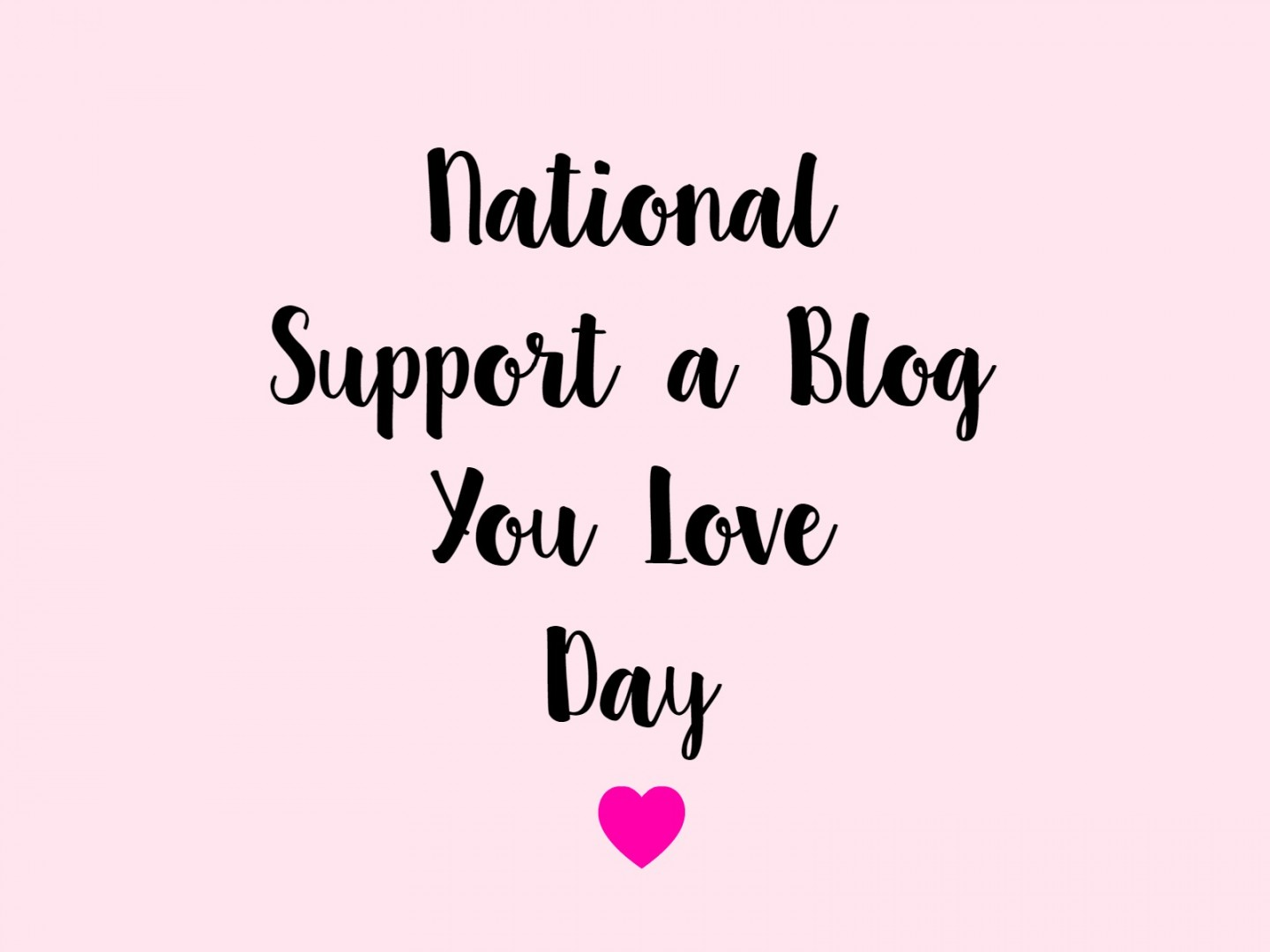 support a blog you love 2