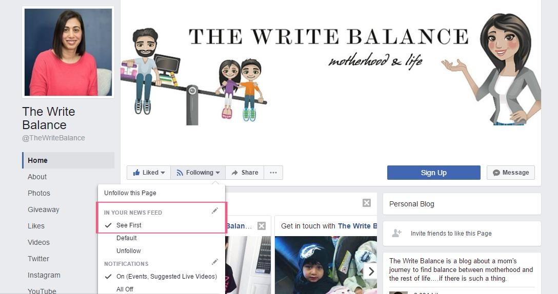 the write balance